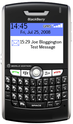 blackberry inbox mail