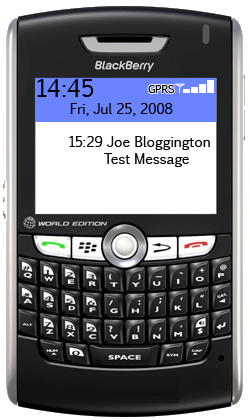 blackberry  inbox