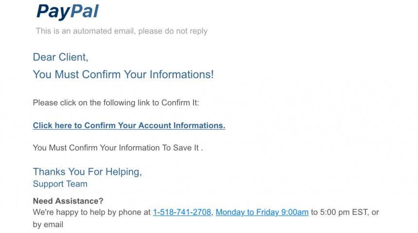 Phone and Email Scams